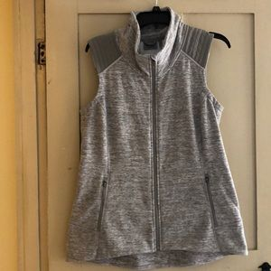 Athlete grey vest